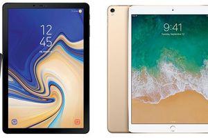 Samsung Galaxy Tab S4 có phải là đối thủ của iPad Pro 10.5?