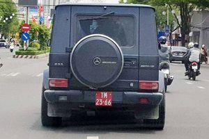 Bất ngờ địa điểm 'giấu' xe sang Mercedes mang biển giả quân đội