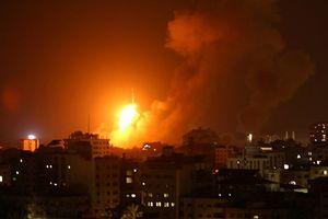 Israel không kích 140 mục tiêu của Hamas tại Gaza