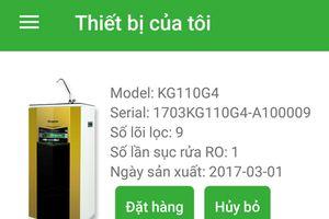IoT iWater: hệ thống lọc nước và giám sát chất lượng nước theo thời gian thực