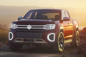Xe bán tải Volkswagen đối thủ của Ford Ranger có thể đi vào sản xuất