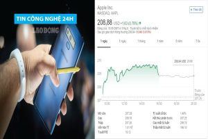 Tin công nghệ 24h: Samsung Galaxy Note 9 giá 'chát'; Giá cổ phiếu của Apple tăng 'kỉ lục'