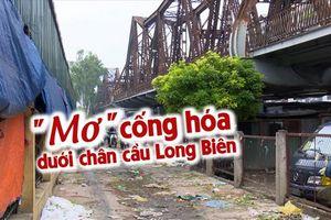 'Địa ngục rác' ở Long Biên: Dân mong cống hóa mòn mỏi mỗi ngày