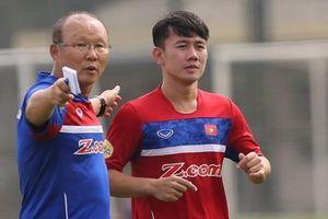 Minh Vương được triệu tập gấp lên tuyển Olympic thay cho Thành Chung