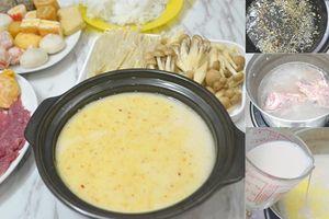Mới lạ món lẩu sữa viên béo ngậy, thơm ngon, đơn giản, dễ làm ngay tại nhà
