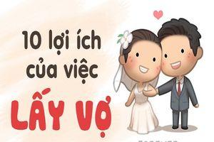 10 lợi ích của việc lấy vợ