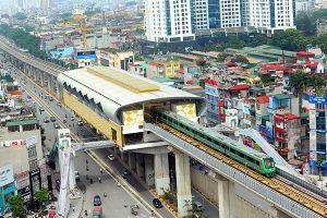 Hé lộ giá vé tàu trên cao Cát Linh - Hà Đông