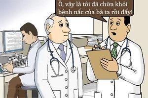 Tối cười: Tuyệt chiêu chữa nấc của bác sĩ trẻ