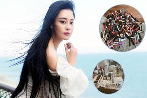 Chỉ nhìn bộ sưu tập son môi của Trương Hinh Dư cũng đủ để 'phát hờn'