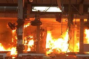 Cảnh báo công tác phòng chống cháy nổ tại các khu chợ truyền thống