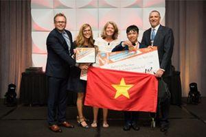 Nam sinh lớp 10 giành Huy chương Đồng Vô địch Tin học Văn phòng Thế giới