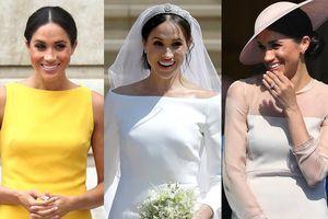 15 bộ trang phục đắt giá nhất mà Công nương Meghan Markle từng diện