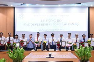 Hà Nội bổ nhiệm một số lãnh đạo cấp sở