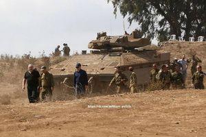 Israel bất ngờ tung xe thiết giáp lạ áp sát biên giới Syria
