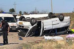Ukraine: Xe buýt đâm xe tải trên đường cao tốc, 5 trẻ em thiệt mạng