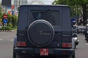 'Siêu xe' gắn biển số giả của quân đội 'chạy cho oai'?!