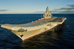 Đằng sau mục đích Nga nâng cấp tàu sân bay Đô đốc Kuznetsov