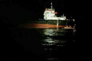 Cứu hộ 11 thuyền viên tàu hàng bị chìm do áp thấp nhiệt đới