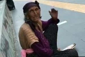 Bà lão ăn xin tiết lộ kiếm hơn 2 triệu đồng trong một buổi sáng