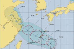 Trận bão thứ 14 trong năm sắp đổ bộ vào miền Đông Trung Quốc