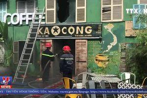 Cháy quán cà phê tại Đà Nẵng