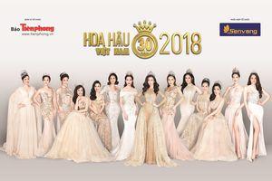 Bộ ảnh 14 Hoa hậu Việt Nam hội tụ đẹp tựa nữ thần