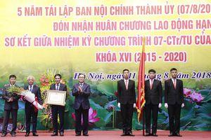 Ban Nội chính Thành ủy Hà Nội kỷ niệm 5 năm tái thành lập và đón nhận Huân chương Lao động