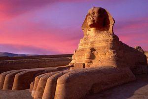 Ai Cập phát hiện thêm một tượng nhân sư mặt người mình sư tử