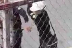 Xôn xao clip 2 công nhân bị nhóm bảo vệ đánh gục