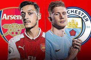 Lịch thi đấu Ngoại hạng Anh ngày 12/8: Arsenal đại chiến Man City