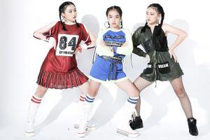 Mẫu nhí năng động với trang phục thể thao của NTK Thanh Huỳnh