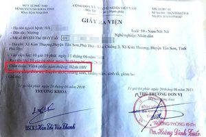Nhiều người nghi nhiễm HIV nghi do dùng chung kim tiêm ở Phú Thọ: Bộ Y tế yêu cầu xác minh, xử lý nghiêm