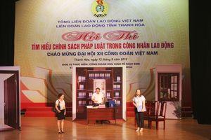 Hội thi tìm hiểu chính sách pháp luật trong công nhân, lao động