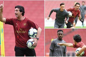 HLV Emery 'lên dây cót' cho sao Arsenal, sẵn sàng đại chiến Man City
