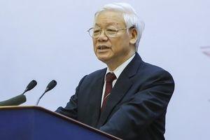 Tổng Bí thư nêu một loạt câu hỏi với ngành ngoại giao