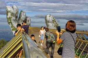 Ấn Độ sẽ xây cầu khổng lồ như Cầu Vàng ở Việt Nam