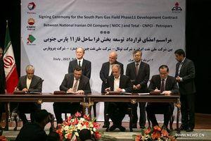 Iran duy trì hợp đồng phát triển mỏ khí South Pars với Total, CNPC