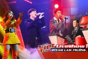 Team Lam Trường: Dương Quốc Anh hò Huế, Đoan Trang - Phương Duy khiến fan 'mê mệt' với hit của 2NE1 - MONSTAR