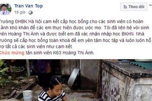 ĐH Bách khoa cấp học bổng cho nữ sinh mồ côi cha ở Thanh Hóa, gia đình khó khăn đến nỗi suýt phải bỏ giấc mơ học tiếp