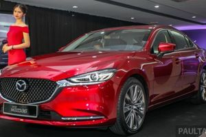 Mazda6 2018 'đẹp long lanh' sẽ về Việt Nam vào cuối năm nay?