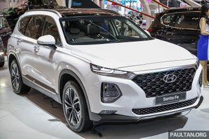 Hyundai Santa Fe thế hệ mới lộ diện tại GIIAS 2018
