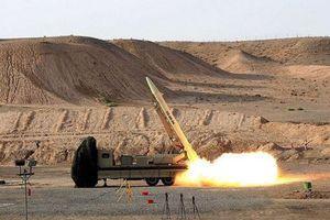 Iran công bố tên lửa đạn đạo mới