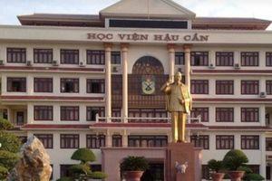 Thủ khoa từ Hòa Bình của Học viện Hậu cần chưa nộp hồ sơ nhập học