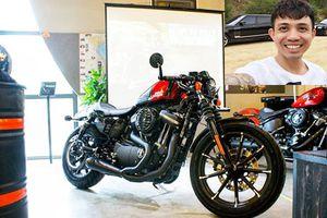 Minh Nhựa tậu Harley-Davidson 883 cafe racer giá 469 triệu đồng