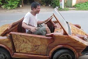 Nông dân Sơn Tây chế 'siêu xe gỗ'... Lamborghini