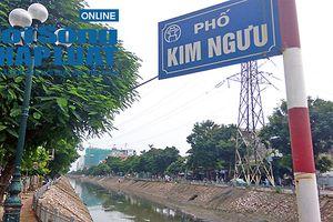 Hà Nội: 1km có tới 7 ống xả thải, sông Kim Ngưu khó 'hồi sinh'