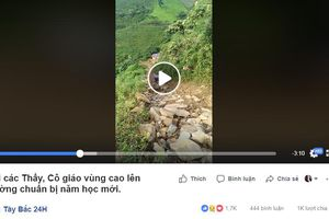 CLIP: Hành trình đầy gian khó của các thầy cô giáo bám bản gieo chữ giữa rừng ở Sơn La