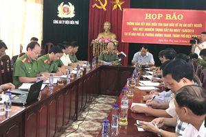 Thông tin mới nhất vụ nổ súng kinh hoàng 3 người chết ở Điện Biên