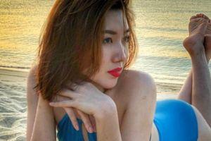 Ảnh Thúy Ngân 'Gạo nếp gạo tẻ' mặc bikini nóng rẫy ở bãi biển đẹp hút mắt