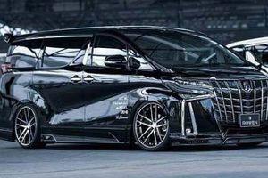 'Chuyên cơ mặt đất' Toyota Alphard siêu ngầu với gói độ mới